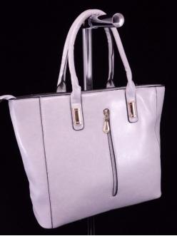Женская сумка, цвет L-629 Светло Серая купить недорого