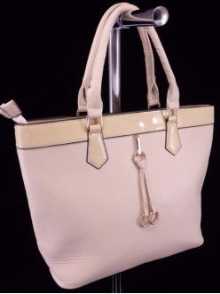 Женская сумка, цвет L-638 Бежевая купить недорого