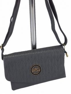 Женская сумка, цвет LJ-115 Серый Клатч купить недорого