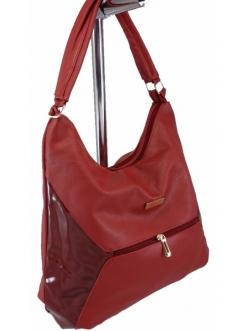 Женская сумка, цвет M-164 Бордовая купить недорого