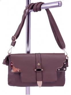 Женская сумка, цвет WH-2 Коричневый Клатч купить недорого